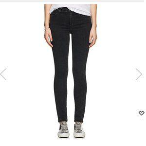 Earnest Sewn Black Hi Rise Skinny Jeans 25
